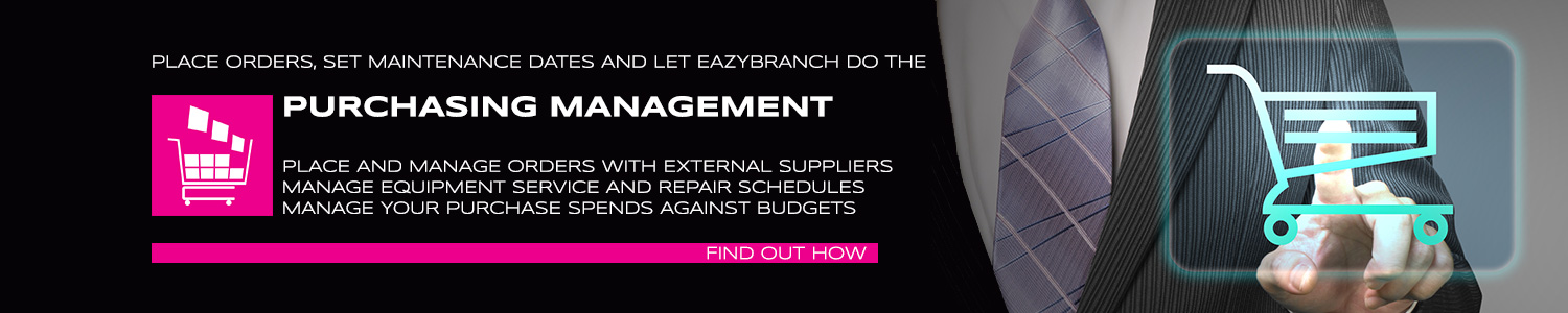 Eazybranch supplies unique products to help you manage the purchasing process